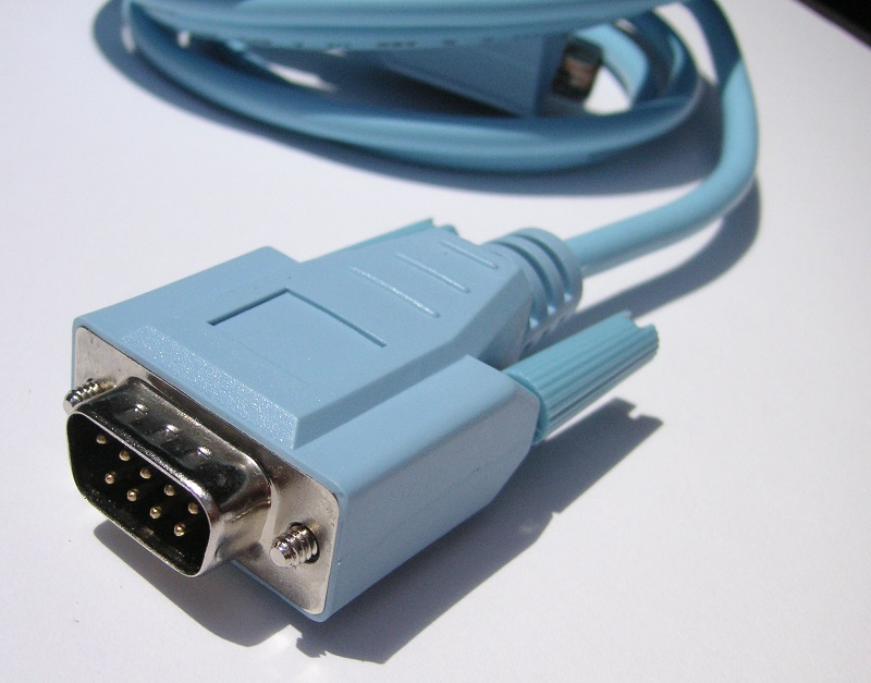 Serial cable for PLC programming
